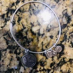 Alex and Ani Women's Pisces Bangle Bracelet